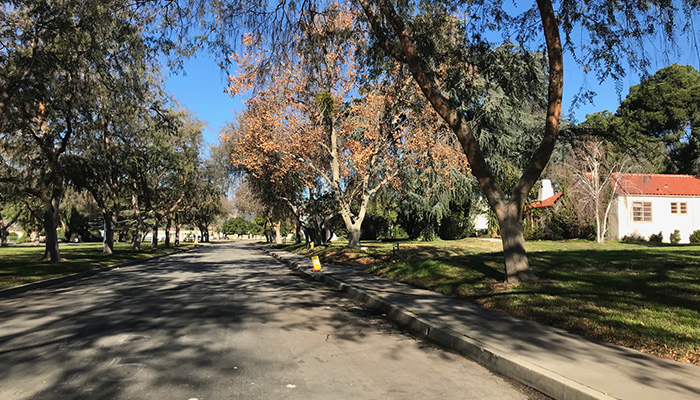 Campus South Exteriors - Residential Streets